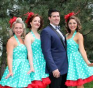 Vintage Holiday quartet