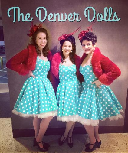 Denver Dolls Nostalgic Carolers 2017